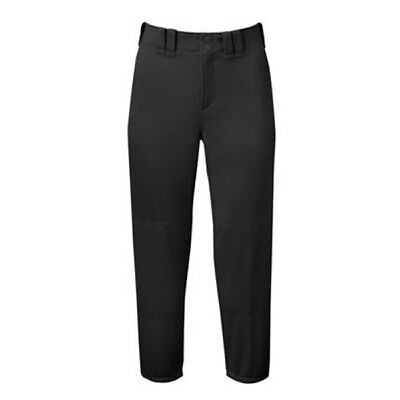 Mizuno Women's Select Belted Low Rise Fastpitch Softball Pant - Black - Medium