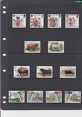 great britain MNH lot of 31 1040 / 1070  cat $21.00