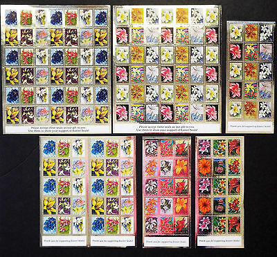Us Easter Seals 2006 To 2009 Full Mnh Sheets