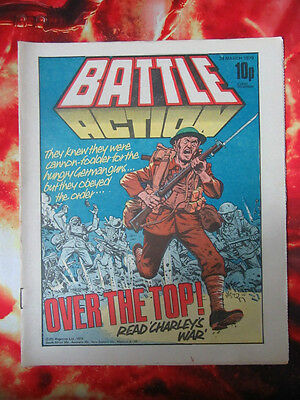 Battle Action Comic 24 March 1979.  Fn.  Charley's War -  Joe Colquhoun