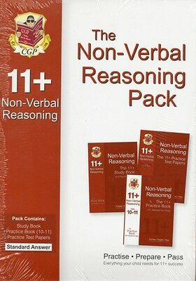 11+ Non-Verbal Reasoning Bundle Pack - Standard Answers (for GL & Other Test Pr.