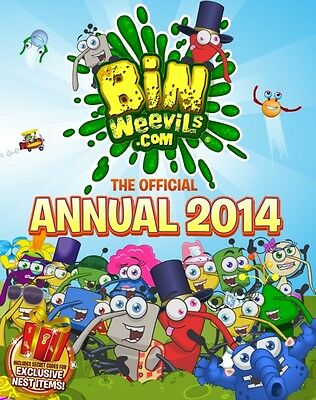 Bin Weevils: The Official Annual 2014 (Annuals) (Hardcover), Macmillan, 9781447.