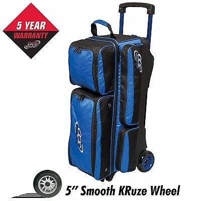 Columbia 300 Icon 3 Ball Roller Bowling Bag Blue 5 Year Warranty