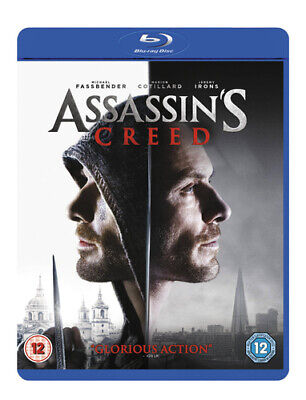 Assassin's Creed Blu-ray (2017) Michael Fassbender