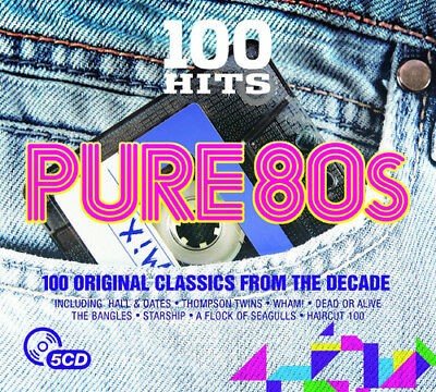 Various Artists : 100 Hits: Pure 80s CD (2016) ***NEW***