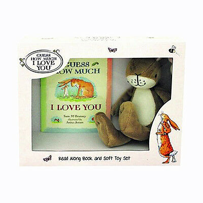 Guess How Much i Love You & Libro Suave Juguete Set