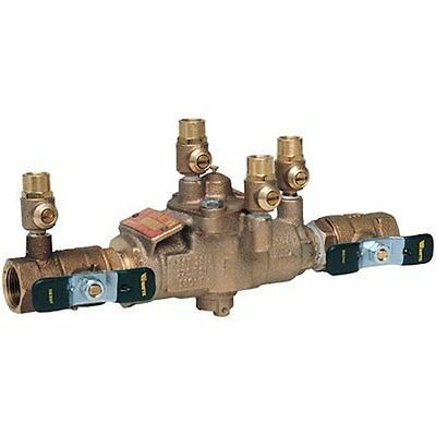 """Watts Outlet Switches 3/4"""" 009M3 Backflow Preventer Reduced Pressure Zone RPZ"""