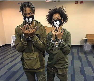Ayo and Teo Face Mask panda bape mask free shipping bear mouth