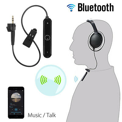 Bluetooth Wireless Adapter Receiver Mic Cable For Bose AE2 AE2i AE2w Headphones