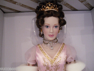 Franklin Mint Faberge Princess Sofia Porcelain Doll Imperial Debutante MIB LE