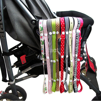 New 1PC Anti-Drop Baby Pram Stroller Toy Rope Strap Hanger Lanyard Clip CA