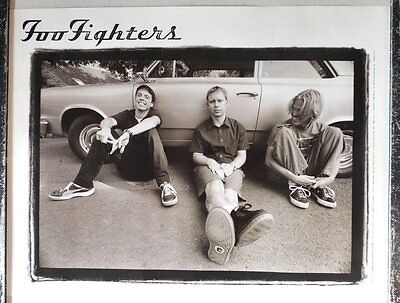 Vintage Original Foo Fighters Double Sided Poster There Is Nothing Left To Lose