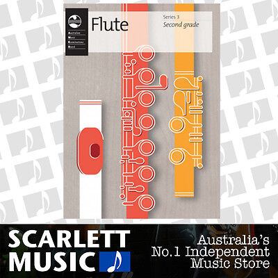 AMEB Flute Series 3 -  Grade 2 ( Two / Second ) Book *BRAND NEW*