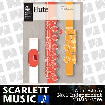 AMEB Flute Series 3 -  Grade 4 ( Four / Fourth ) Book *BRAND NEW*