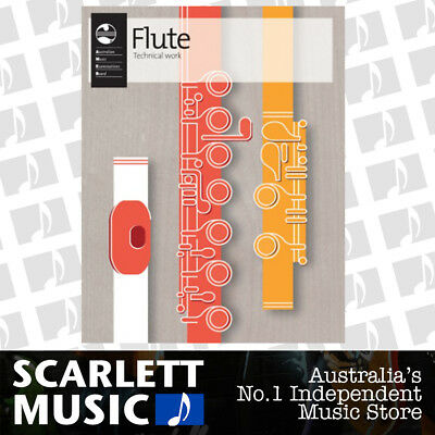AMEB Flute Technical Workbook 2012 Current Edition Book *BRAND NEW*