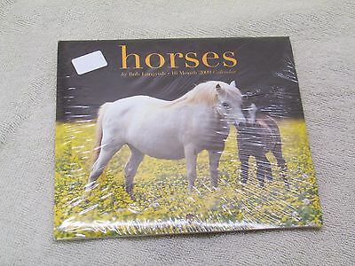 Horses by Bob Langrish  16 Month 2009 (OR 2020) Calendar New & Wrapped.