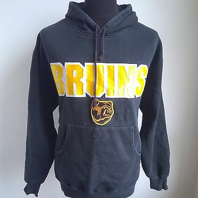 Boston Bruins Hoody Nhl Ice Hockey Shirt Made In Canada Majestic Size Adult L