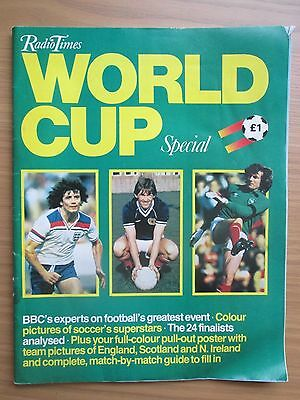 1982 Radio Times World Cup Special Issue