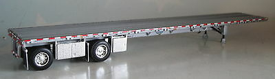 Dcp Silver Wilson Roadbrute Flatbed Trailer Only1/64 Diecast 33465