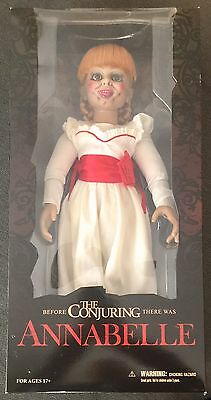Annabelle (The Conjuring) Prop Replica Doll (Boxed, New) Mezco (Free Post)