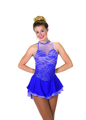 New Jerrys Competition Skating Dress 103 Lace And Liliacs Made on Order