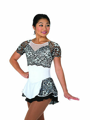 New Jerrys Competition Skating Dress 101 French Accent Made on Order