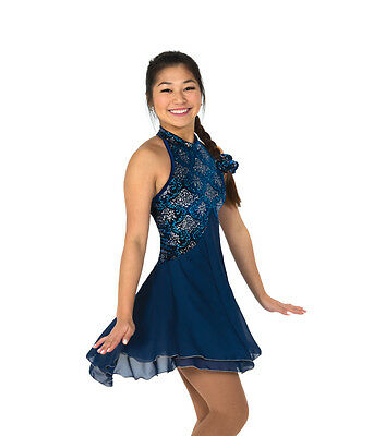 New Jerrys Competition Skating Dress 109 Fountain Made on Order