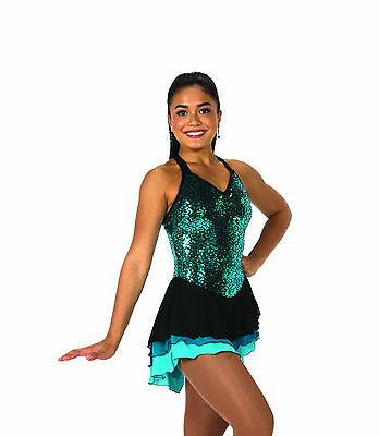 New Jerrys Competition Skating Dress 83 Sequinette Made on Order