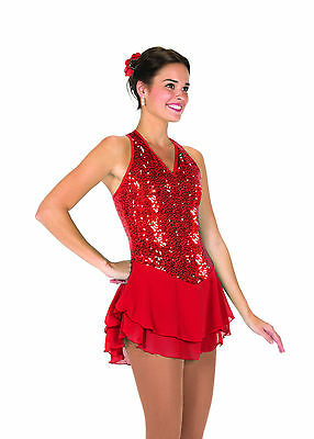 New Jerrys Competition Skating Dress 113 Sparks & Sparkles Made on Order