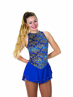 New Jerrys Competition Skating Dress 76 Ivy League Turquoise Made on Order