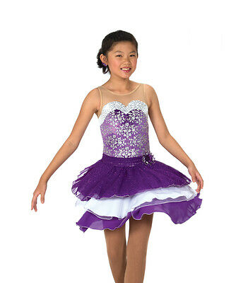 New Jerrys Competition Skating Dress 120 Dancing Violet Made on Order