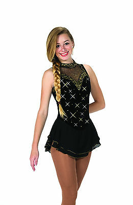 New Jerrys Competition Skating Dress 82 Nightshade Made on Order