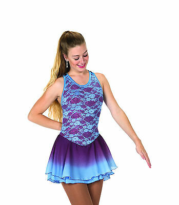 New Jerrys Competition Skating Dress 115 Spring Wine Made on Order
