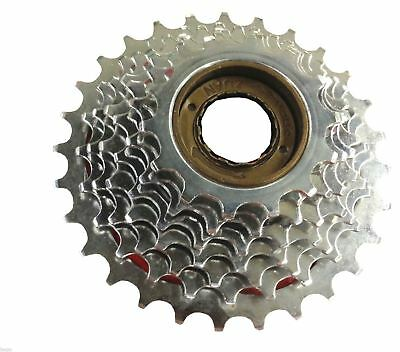 Bicycle 7 Speed Index Freewheel 14-28 Tooth Sprocket Screw on MTB Cassette