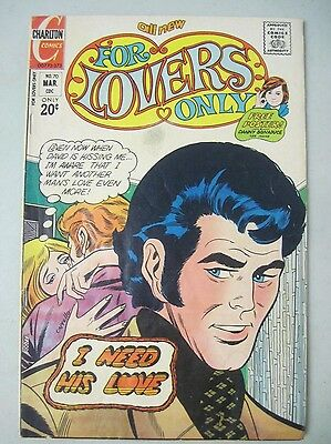 For Lovers Only #70 March 1973 Charlton Comics Romance Danny Bonaduce Pin-Up