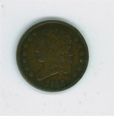 1833 Us Classic Head Copper Half Cent-Cheap-L@@k