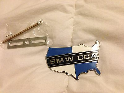 Official Bmw CCA Car Club of America Grill Badge Emblem Hood Ornament
