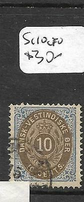 Danish West Indies  (P1304B) Sg  10    Vfu