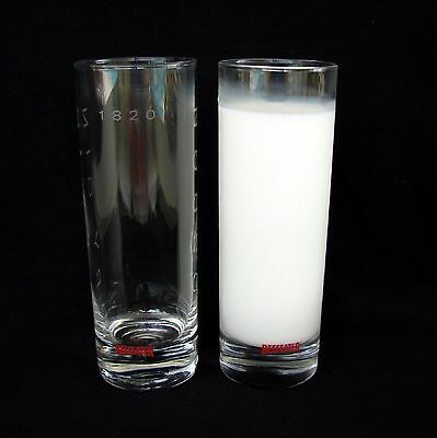 Beefeater Dry Gin London 1820 Tall Etched Bar Glasses Glassware Cocktail Liquor
