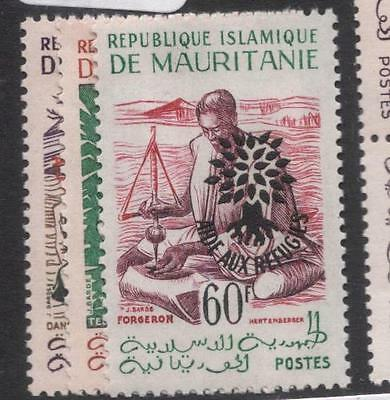 Mauritania Refugee 26 Leaves After SC 135 Type I MNH (1dgi)