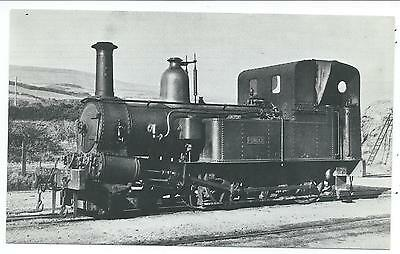 "ISLE OF MAN RAILWAY - Steam Loco no.3 ""PENDER"" Real Photo Postcard"