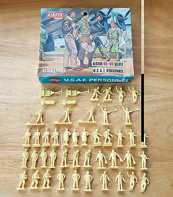 Airfix HO-OO 1/72 USAF Personnel Plastic Figures x46 Boxed Set