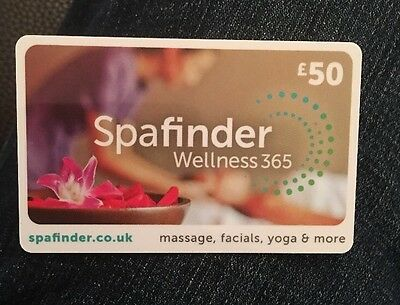 Spafinder Wellness 365 - £50 Gift Card
