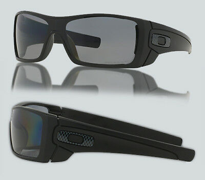 d9f14c40742 NEW OAKLEY OO 9101 BATWOLF 910104 Matte Black Polarized Sunglasses ...