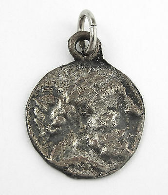ANTIQUE GRECO-ROMAN COIN CHARM / PENDANT - Reproduction