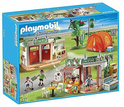 Playmobil #5432 Camp Site New In Box