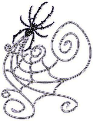 Spiders And Web 10 Machine Embroidery Designs Cd 3 Sizes Included