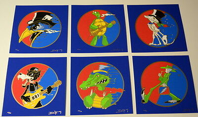 Dead And Company - Richard Biffle - Grateful Dead - 6 Print Set - Matching Numbe