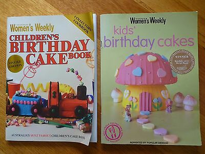 Women's Weekly CHILDREN'S BIRTHDAY CAKE BOOK & KIDS BIRTHDAY CAKES