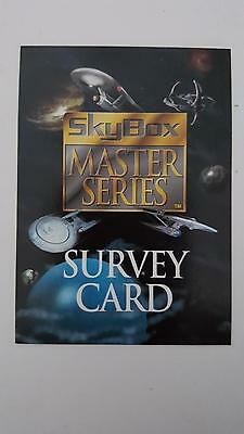 Skybox Master Series:1994 Star Trek Edition Survey card